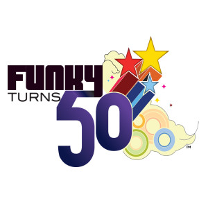 Funky Turns 50 Magnet