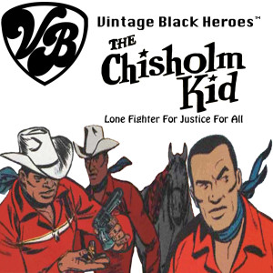 Vintage Black Heroes Magnet - The Chisholm Kid