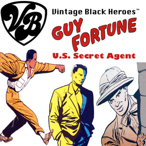 Vintage Black Heroes Magnet - Guy Fortune