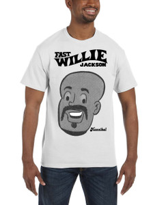 Fast Willie Jackson Men's T-Shirt - Hannibal - 2B - White