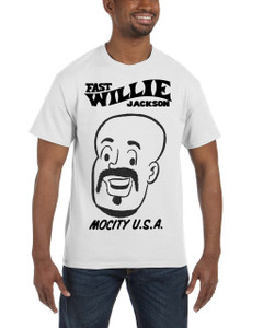 Fast Willie Jackson Men's T-Shirt - Hannibal - 3C - White