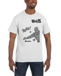 Fast Willie Jackson Men's T-Shirt - Hannibal - 7B - White