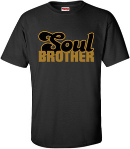 SuperBad Soulware Men's T-Shirt - Soul Brother - Black GDB