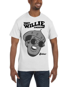 Fast Willie Jackson Men's T-Shirt - Jabar - 2C - White