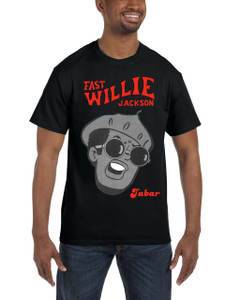 Fast Willie Jackson Men's T-Shirt - Jabar - 4 - Black