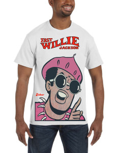 Fast Willie Jackson Men's T-Shirt - Jabar - 5A - White