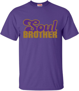 SuperBad Soulware Men's T-Shirt - Soul Brother - Purple - GDPR