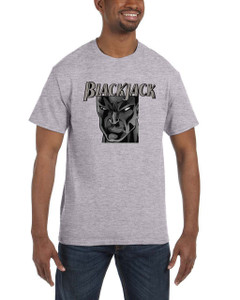 Vintage Black Heroes Men's T-Shirt - BlackJack - 18 - Grey