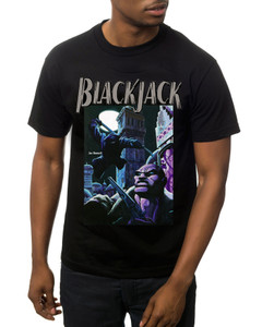 Vintage Black Heroes Men's T-Shirt - BlackJack - Cover 2 - Black