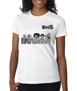 Fast Willie Jackson Women's T-Shirt - Gang - 1B - White