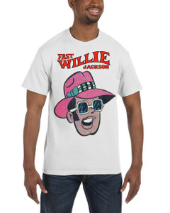 Fast Willie Jackson Men's T-Shirt - Frankie - 2A - White