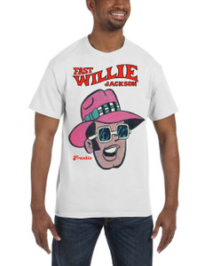 Fast Willie Jackson Men's T-Shirt - Frankie - 2B - White