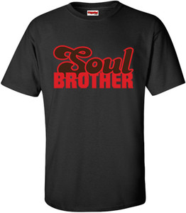 SuperBad Soulware Men's T-Shirt - Soul Brother - Black