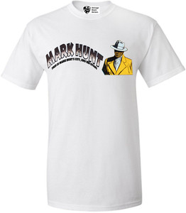 Vintage Black Heroes Men's T-Shirt - Mark Hunt 5 - White