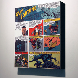 Vintage Black Heroes 32x24 Canvas - Guy Fortune - 11