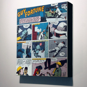 Vintage Black Heroes 32x24 Canvas - Guy Fortune - 8