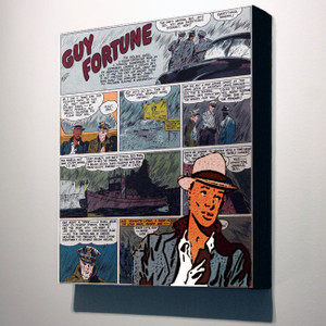 Vintage Black Heroes 32x24 Canvas - Guy Fortune - 7a