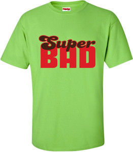 SuperBad Soulware Men's T-Shirt - Super Bad - Lime Green