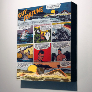 Vintage Black Heroes 32x24 Canvas - Guy Fortune - 3a