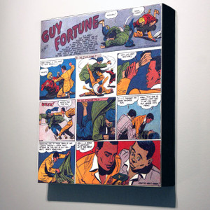 Vintage Black Heroes 32x24 Canvas - Guy Fortune - 2