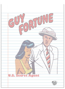 Vintage Black Heroes Notepad - Guy Fortune - 14