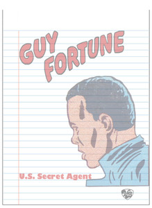 Vintage Black Heroes Notepad - Guy Fortune - 15