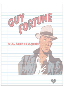 Vintage Black Heroes Notepad - Guy Fortune - 16