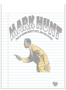 Vintage Black Heroes Notepad - Mark Hunt - 1