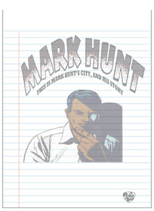 Vintage Black Heroes Notepad - Mark Hunt - 6