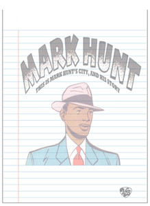 Vintage Black Heroes Notepad - Mark Hunt - 8