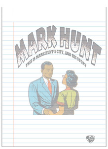 Vintage Black Heroes Notepad - Mark Hunt - 11