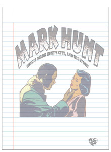 Vintage Black Heroes Notepad - Mark Hunt - 10