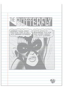 Vintage Black Heroines Notepad - The Butterfly - 4