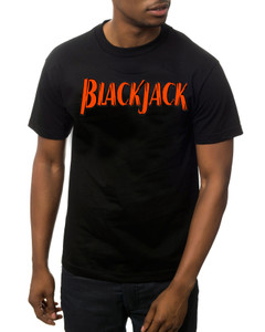 Vintage Black Heroes Men's T-Shirt - BlackJack - Logo 3 - Black