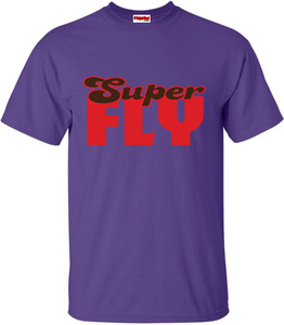 SuperBad Soulware Men's T-Shirt - Super Fly - Purple