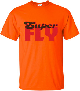 SuperBad Soulware Men's T-Shirt - Super Fly - Orange