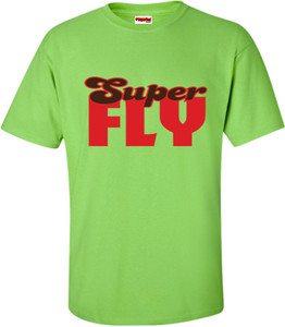 SuperBad Soulware Men's T-Shirt - Super Fly - Lime Green