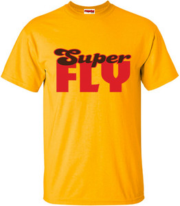 SuperBad Soulware Men's T-Shirt - Super Fly - Gold