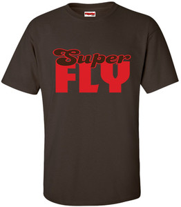 SuperBad Soulware Men's T-Shirt - Super Fly - Brown