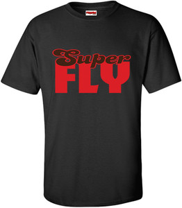 SuperBad Soulware Men's T-Shirt - Super Fly - Black
