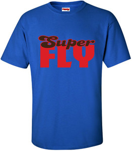 SuperBad Soulware Men's T-Shirt - Super Fly - Royal Blue