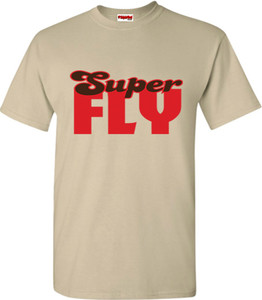 SuperBad Soulware Men's T-Shirt - Super Fly - Sand