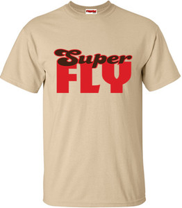 SuperBad Soulware Men's T-Shirt - Super Fly - Tan