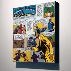 Vintage Black Heroes 32x24 Canvas - Mark Hunt - 9C