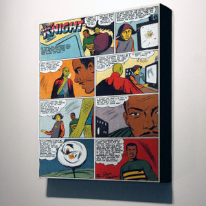 Vintage Black Heroes 24x20 Canvas - Neil Knight - 3