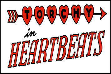 Vintage Black Heroines Magnet - Torchy In Heartbeats Logo - 1