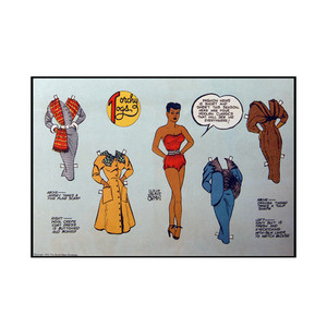 Vintage Black Heroines Postcards - Torchy Togs - 10 - Package Of 10