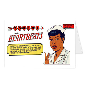 Vintage Black Heroines Greeting Cards - Torchy In Heartbeats - 1A