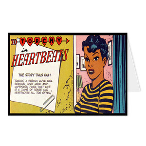 Vintage Black Heroines Greeting Cards - Torchy In Heartbeats - 3A
