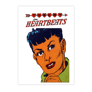 Vintage Black Heroines Notecards - Torchy In Heartbeats - 2 - Package Of 10